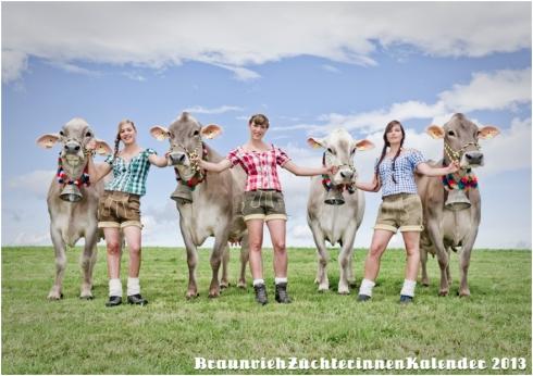 Braunviehzüchterinnen Kalender